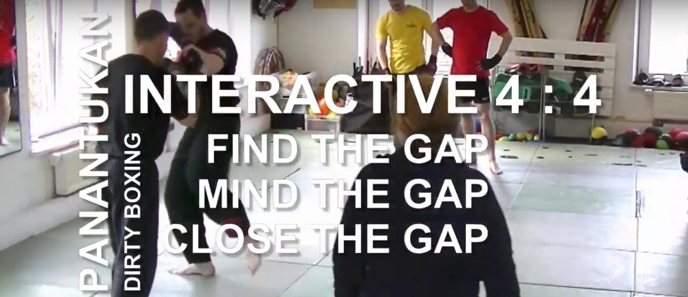 Interactive 4 : 4 | Panantukan