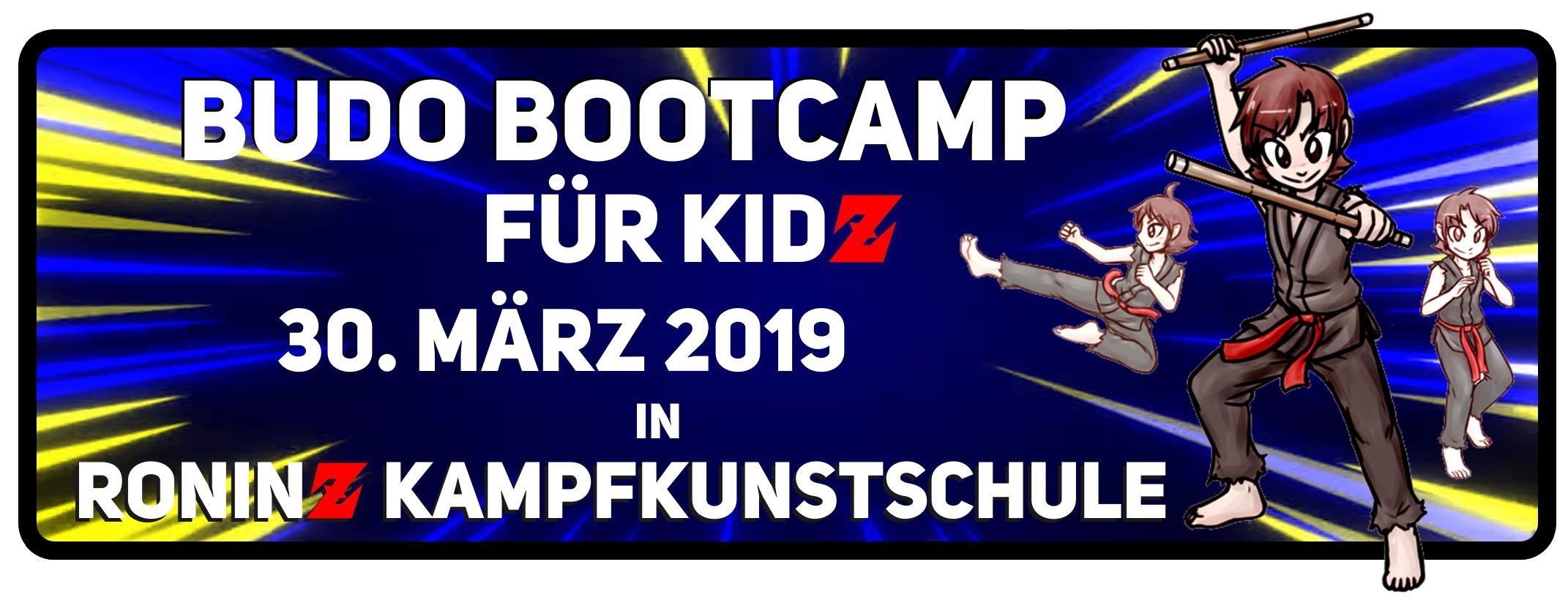 Budo Bootcamp für Kids 30.03.2019 2