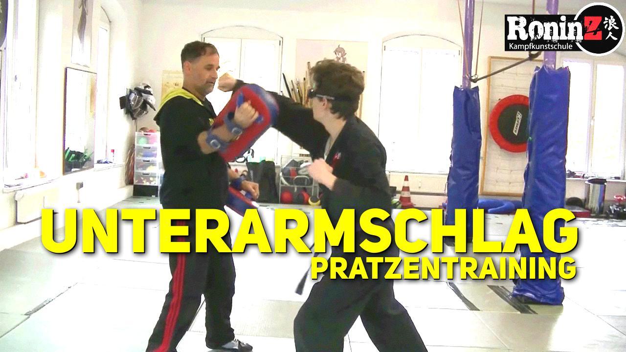 Unterarm - Pratzentraining - Ju-Jutsu-Do